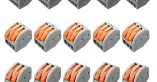 <b>ZDM</b> 5PCS ET25 2/3/5 Pins 32A Spring Terminal Block Electric ...