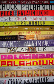 17 best images about chuck palahniuk to tell stack of chuck palahniuk books hell yeah