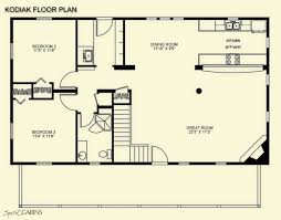 ideas about Loft Floor Plans on Pinterest   Loft Flooring       bedroom   loft log cabin floor plans   Floor Plan Gallery