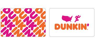 Dunkin' Gift Cards in Bulk