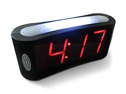 Buy <b>LED Digital Alarm Clock</b> - Outlet Powered, No Frills Simple ...