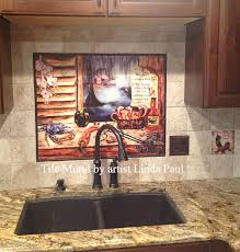 Backsplash Kitchen Tile Louisiana Kitchen Tile Backsplash Cajun Art Tiles