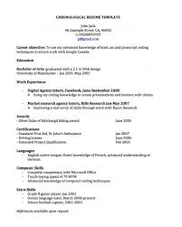 smlf middot resume design sample chronological chronological reverse chronological resume template volumetrics co reverse chronological resume example chronological resume template word 2007 chronological