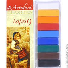 """<b>Пластика</b> """"<b>LAPSI</b>""""-9цв. с классич. цветами 180гр. 7109-8"""