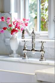 perrin rowe lifestyle: perrin rowe provence series faucet with cross handles in polished nickel my favorite faucet
