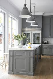 Gray And White Kitchen Designs Kitchen Design Grey Cabinets Outofhome