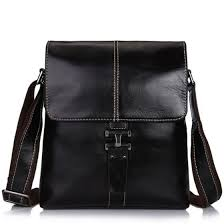 Shop <b>Leisure</b> men <b>genuine leather</b> shoulder handbag messenger ...