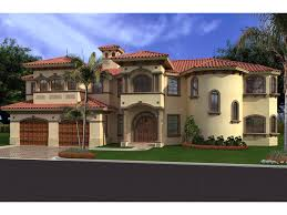 High Quality Spanish House Plans   Luxury House Plan First Floor        Exceptional Spanish House Plans   Luxury Spanish Mediterranean House Plans