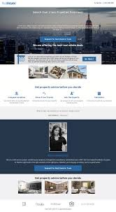 marketplace real estate templates for building high converting this template features striking imagery to help establish realtor credibility the first fold contains a brilliant panoramic image perfect for showing off