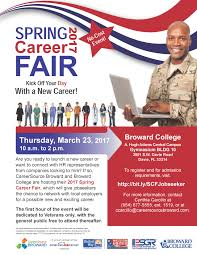 spring career fair the broward college blog