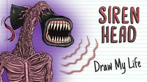 SIREN HEAD   <b>Draw My Life</b> - YouTube