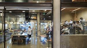 university of washington lander hall mithun serving stations are included as part of local point s e dining design concept while the chef s table provides a multipurpose teaching and