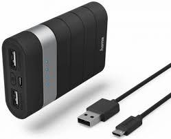 Портативное <b>зарядное устройство Hama Joy</b> Li-Ion 7800мАч ...