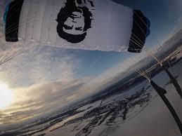 skydive mag photo essay skyart che guevara canopy