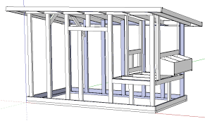 The Palace Chicken Coop  Free Chicken Coop Plan   Steamy Kitchen    Designing the Chicken Coop