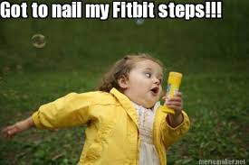 Image result for walking with fitbit gif