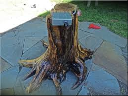 awesome propane fire table with a tree trunk base below the propane 5mozpxnw awesome tree trunk table 1