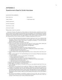 appendix c questionnaire used to guide interviews airport page 74
