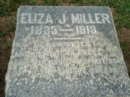 grave site of maggie miller 1856 1915 billiongraves headstone image of maggie miller