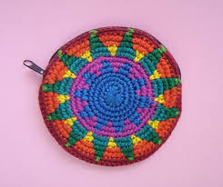 Image result for crochet tapestry coin purses