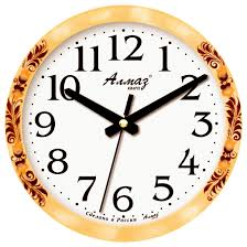 Купить <b>Часы настенные кварцевые</b> Алмаз E25 бежевый/белый ...