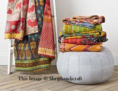 Wholesale <b>5 Pc Lot</b> Vintage Kantha Quilt, Indian Sari Quilt Kantha ...