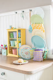 kitchen colors images: colour love pastels minty house photo kitchen power of colors yellow love cath kidston rice pastels basket malamine ptales spoons