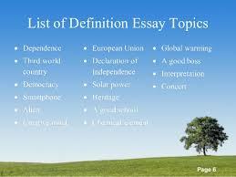 essaytopicslist of definitions essay topics     definition essay topics