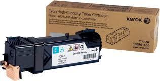 Тонер-<b>картридж Xerox 106R01456</b>, голубой, для лазерного ...