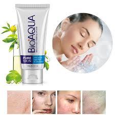 <b>BIOAQUA</b> Oil Control Removes <b>Acne</b> Blackheads Facial Cleanser ...