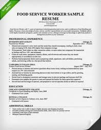 sample fast food cashier resumeuse the above sample food server resume to help you customize and create your own powerful
