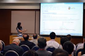 larc workshop on smart nation living analytics research centre prof jiang jing presenting her area on content analysis