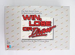 Amazon.com: Win, Lose or Draw - Original Edition (1987): Toys ...
