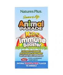Nature's Plus <b>Source of Life Animal</b> Parade Kids Immune Booster ...