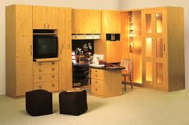 office and hobby room with full counteract area and built in bench cabinet factory seating 8 white home office and den with custom built in cabinets beautiful office desks shaped 5