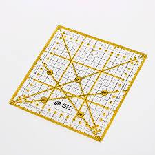 Multifunction Acrylic <b>Ruler</b> 15*15 CM Tailor Tools DIY Sewing <b>Ruler</b> ...