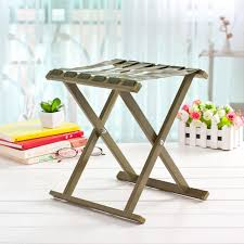 Military <b>Green Aluminum Alloy</b> Stools Metal Folding Outdoor ...