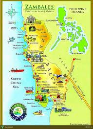 map of zambales ile ilgili görsel sonucu map of zambales