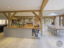 open kitchen design farmhouse: timber and glass kitchen extensions google search oak framed extensions pinterest extension google conservatory and farmhouse kitchens