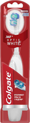 <b>Электрическая зубная щетка Colgate</b> 360 Optic White — купить в ...