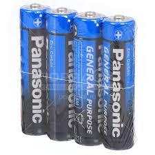 <b>Батарейка Panasonic AAA</b> R03 Zinc-carbon General Purpose, 4 шт ...
