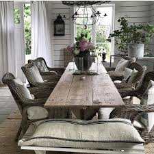 country living rooms ideas rattan chairs