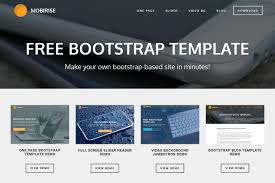 bootstrap template for mobile friendly websites bootstrap template for mobile friendly websites
