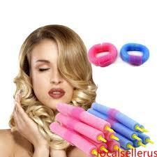 <b>12PCS Soft Hair</b> Curler Roller Curl Hair Bendy Rollers DIY Magic ...