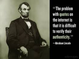 Image result for lincoln internet quotations