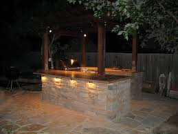 gallery outdoor kitchen lighting: finally the outdoor kitchen img jpg finally the outdoor kitchen