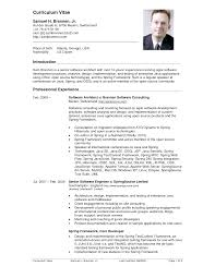 Use This Curriculum Vitae Example To Write Your Own Cv Resume Cv ... use this curriculum vitae example to write your own cv : resume cv examples