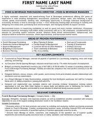 top purchasing resume templates  amp  samples