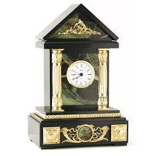 """Каминные часы """"Домик"""" камень <b>офиокальцит</b> 003135 купить в ..."""