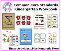 Kindergarten Common Core Workbook DownloadKindergarten Common Core Activities Kindergarten Common Core Activities ...